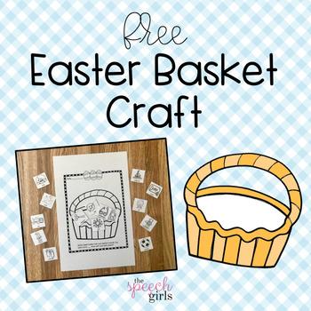 Easter Basket Articulation Craft