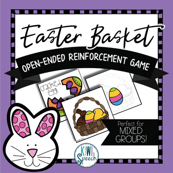Easter Basket Builder: Open Ended Game: Great for Speech and Language