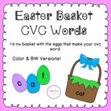 Easter Basket CVC Words