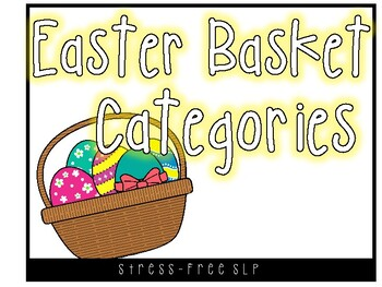 Easter Basket Categories