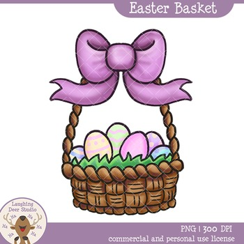 Easter Basket Clip Art