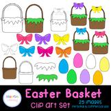 Easter Basket Clip Art