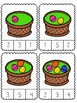 Easter Basket Count and Clip {Dollar Deal}