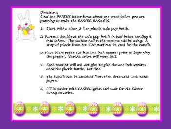 Easter Basket FREEBIE