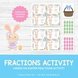 Easter Basket Fraction Math Activity
