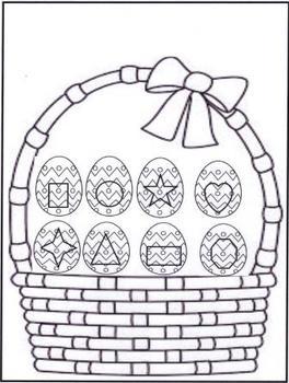Easter Basket Listening Assessment
