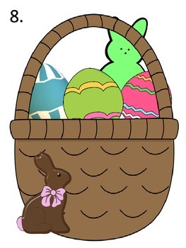 Easter Basket Math Activities---Add and Subtract Money