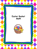 Easter Basket Math Craftivity