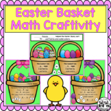 Easter Basket Math Craftivity for Sorting, Addition, and Subtraction