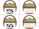 Easter Basket Melody Matching--A stick to staff notation g