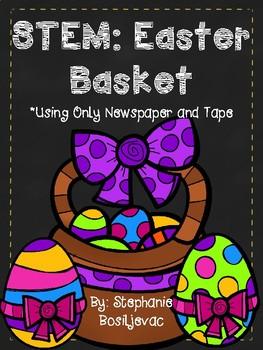 Easter Basket STEM