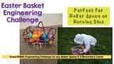 Easter Basket STEM Challenge (Perfect for Maker Space/ K-6 STEM)