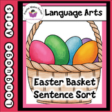 Easter Basket Sentence Sort