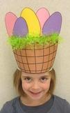 Easter Basket Sentence Strip Hat