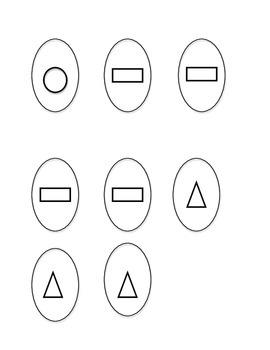 Easter Basket Shape Sort