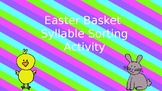 Easter Basket Syllable Sort