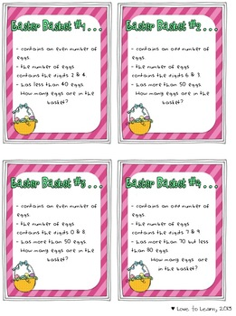 Easter Basket of Fun - 10 Easter-themed Printables & Activities