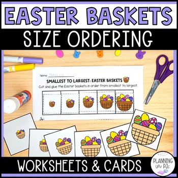 Easter Baskets - From Smallest to Largest