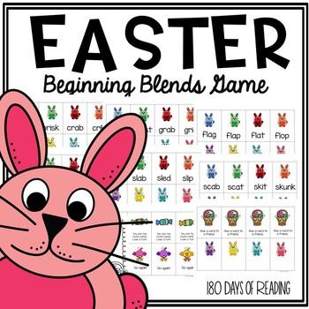 Easter Consonant Blends Game