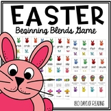 Easter Consonant Blends Game to Practice Reading Fluency and Accuracy