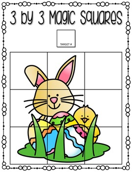Easter Beginning Logic Puzzles and Activities