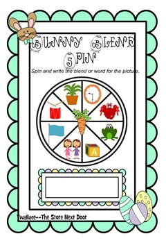 Easter Beginning and Ending Consonant Blends