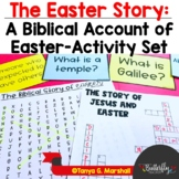 Easter/The Easter Story | The Biblical Account of Easter Activity Set