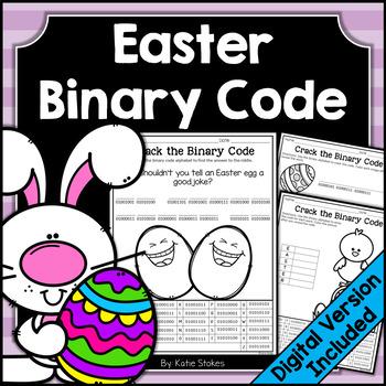 Easter Binary Code STEM Activities