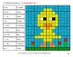Easter: Binary Numbers - Mystery Pictures / Color By Number