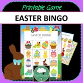 Easter Bingo - Cute Easter Themed Bingo Game for Preschool & K-2 kids