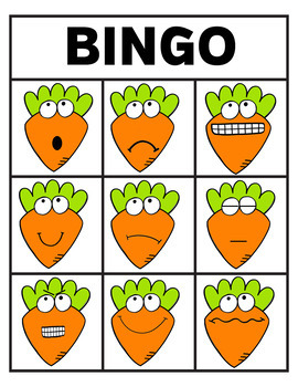 Easter Bingo - Emotions