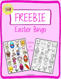 Easter Bingo FREEBIE
