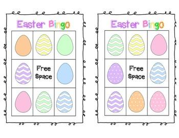 Easter Bingo FREEBIE