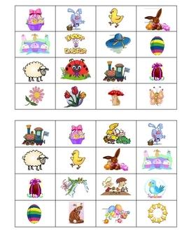 Easter Bingo Game