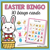 Easter Bingo Game - Easter Activities for Kindergarten