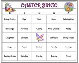 Easter Bingo Game- Celebrate Spring! Includes 60 Bingo Car