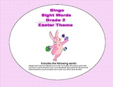 Easter Bingo Game- Sight Words for Grade 2