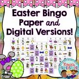 Easter Bingo Printable and Digital Versions