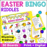 Easter Bingo Riddles Game
