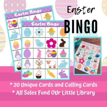 Easter Bingo - Spring Bingo - Memory Game