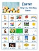 Easter Bingo and Matching Game