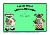 Easter Blast Addition Strategies Game