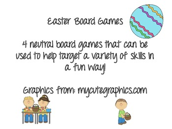 Easter Board Games