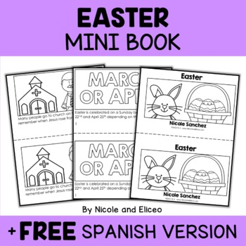 Mini Book - Easter Activity