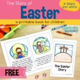 Bible Story Easter Book: Jesus's Death, Burial, and Resurr
