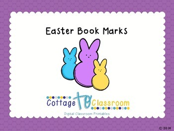 Easter Book Marks