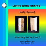 Easter Bookmark for Grades 2 and 3