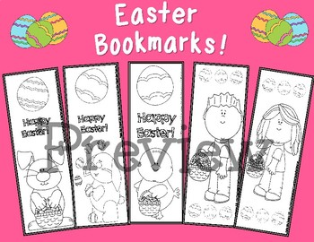 Easter Bookmarks!