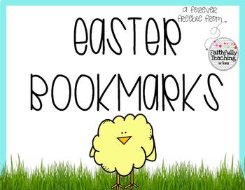 Easter Bookmarks- Forever Freebie