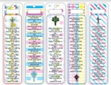Easter Bookmarks (From Teacher to student) Religious